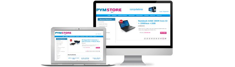 E-commerce PYM Store Cordoba - bit.commerce - Desarrollo Web
