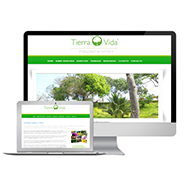 Diseño Web - Tierra y Vida Parquizaciones