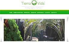Diseño Web Institucional - Tierra y Vida Cordoba Parquizaciones