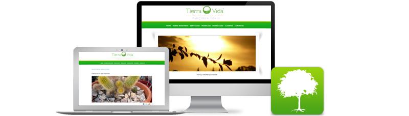 Diseño Web - Desarrollo de Sitio Web Tierra y Vida Cordoba